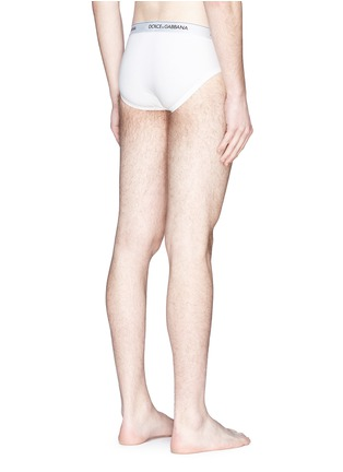 Back View - Click To Enlarge - Dolce & Gabbana - Stretch cotton briefs set