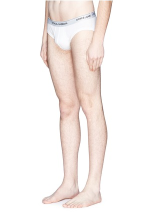 Figure View - Click To Enlarge - Dolce & Gabbana - Stretch cotton briefs set