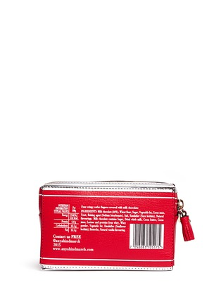 Figure View - Click To Enlarge - Anya Hindmarch - 'Kit Kat' mirror leather wristlet