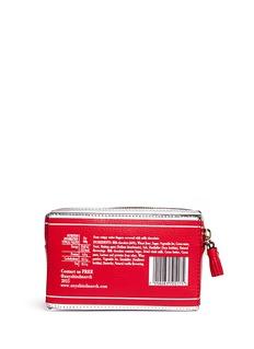ANYA HINDMARCH'Kit Kat' mirror leather wristlet