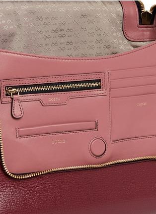 - Anya Hindmarch - 'No Mobiles Maxi Zip' leather crossbody bag
