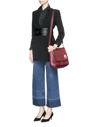 - Anya Hindmarch - 'No Mobiles Maxi Zip' leather crossbody bag