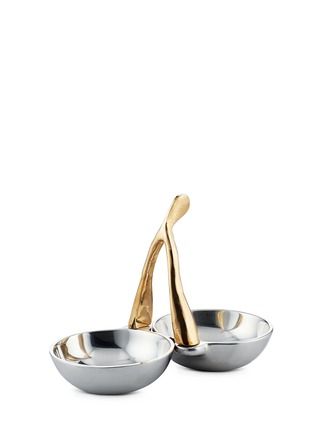 Lunares - Wishbone double condiment dish