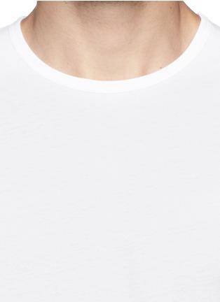 细节 - 点击放大 - SUNSPEL - 纯棉圆领T恤