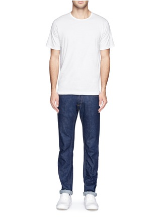 模特儿示范图 - 点击放大 - SUNSPEL - 纯棉圆领T恤