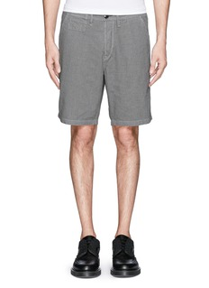 PAUL SMITH JEANS Micro houndstooth shorts