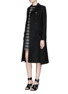 PROENZA SCHOULERPlaid check print crepe dress