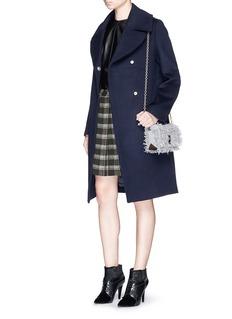 PROENZA SCHOULERPlaid check print pleat skirt