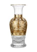 History limited edition gilded gold vase