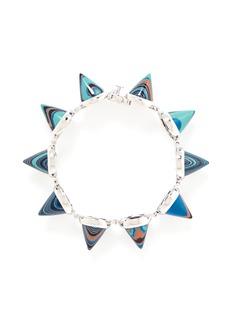EDDIE BORGOMarbled gemstone cone bracelet