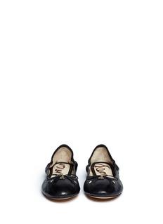 SAM EDELMANFelicia leather ballerina flats