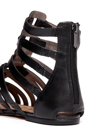 Detail View - Click To Enlarge - Sam Edelman - Beck gladiator flat sandals