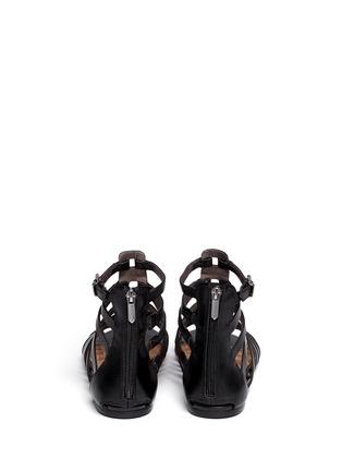 Back View - Click To Enlarge - Sam Edelman - Beck gladiator flat sandals