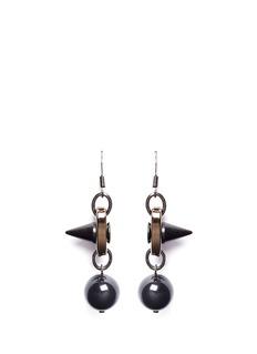 JOOMI LIMSpike pearl drop earrings