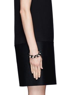 JOOMI LIMSpike pearl double strand bracelet