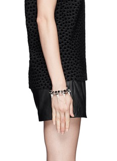 JOOMI LIMSpike crystal chain bracelet