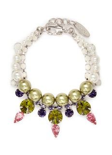 JOOMI LIMCrystal pearl bracelet