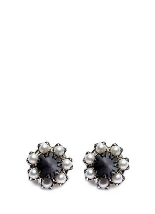 Main View - Click To Enlarge - Joomi Lim - Spike pearl earrings