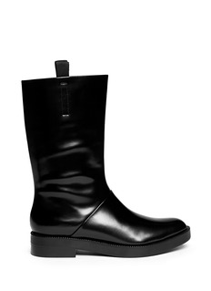 ALEXANDER WANG  'Liberty' shiny leather boots