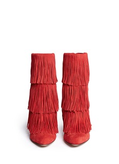 PAUL ANDREW Taos suede fringe boots