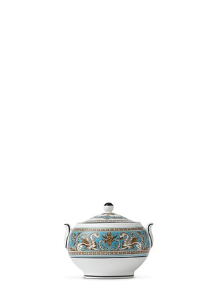 Main View - Click To Enlarge - WEDGWOOD - Florentine Turquoise sugar bowl