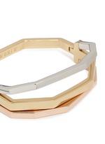 'Flip Bracelet' convertible gold plated bangle