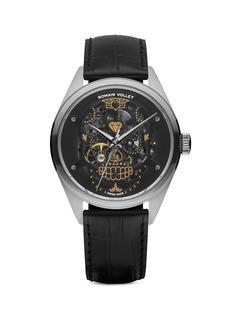 Romain VolletMotor Skull 151 Darkside skeleton watch