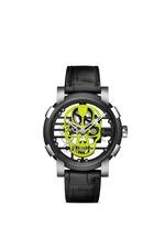 Skylab 48 Speed metal skull skeleton watch - Yellow