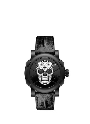 Main View - Click To Enlarge - Romain Jerome - Día de los Muertos Resucitado enamel skull watch