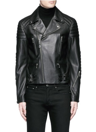 Main View - Click To Enlarge - Givenchy - Leather biker jacket