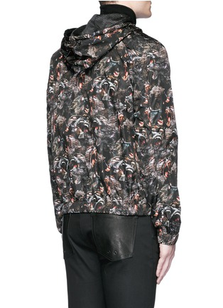 Back View - Click To Enlarge - Givenchy - Monkey print windbreaker jacket