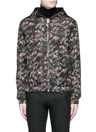Main View - Click To Enlarge - Givenchy - Monkey print windbreaker jacket