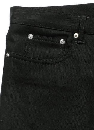 - Givenchy - 'Rico' back strap skinny jeans