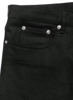 'Rico' back strap skinny jeans