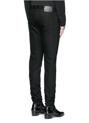 Back View - Click To Enlarge - Givenchy - 'Rico' back strap skinny jeans