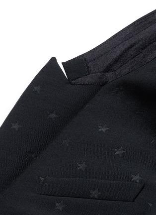 - Givenchy - Satin lapel star jacquard tuxedo suit