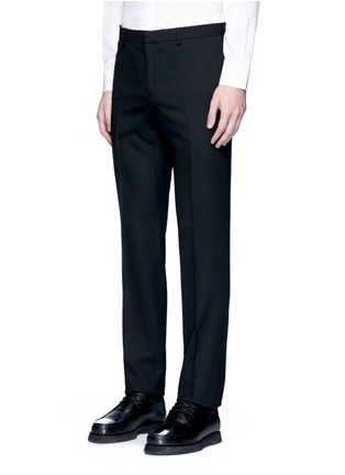 Detail View - Click To Enlarge - Givenchy - Notched lapel wool suit