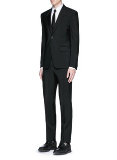 Givenchy Madonna collar wool-Mohair suit