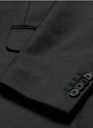 - Givenchy Beauty - Belted wool blend twill blazer
