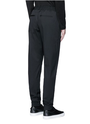 Back View - Click To Enlarge - Givenchy - Slim fit wool gabardine jogging pants