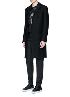 Givenchy Slim fit wool gabardine jogging pants