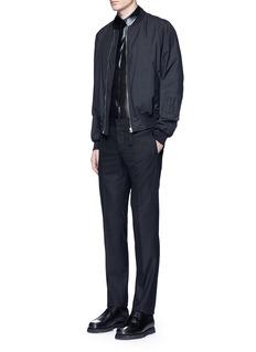 GivenchySilk blend lamé shirt
