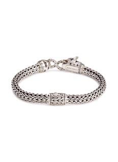 John Hardy Diamond topaz silver Macan bracelet
