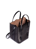 'Vienne Vague' small leather tote