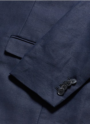 - Scotch & Soda - Notch lapel cotton-linen blazer