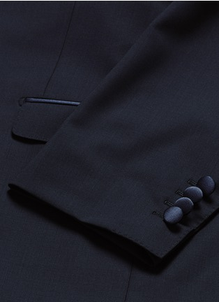 Dolce & Gabbana-'Martini' satin trim wool-silk three piece tuxedo suit