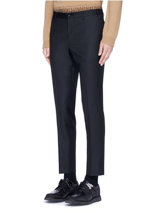 Front View - Click To Enlarge - Dolce & Gabbana - Slim fit wool pants