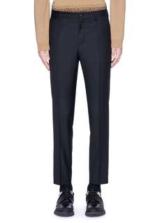 Dolce & GabbanaSlim fit wool pants