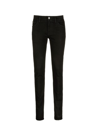 Main View - Click To Enlarge - Dolce & Gabbana - 'Stretch 14' slim fit embroidered jeans