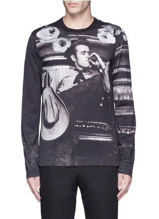 Main View - Click To Enlarge - Dolce & Gabbana - 'James Dean' print T-shirt